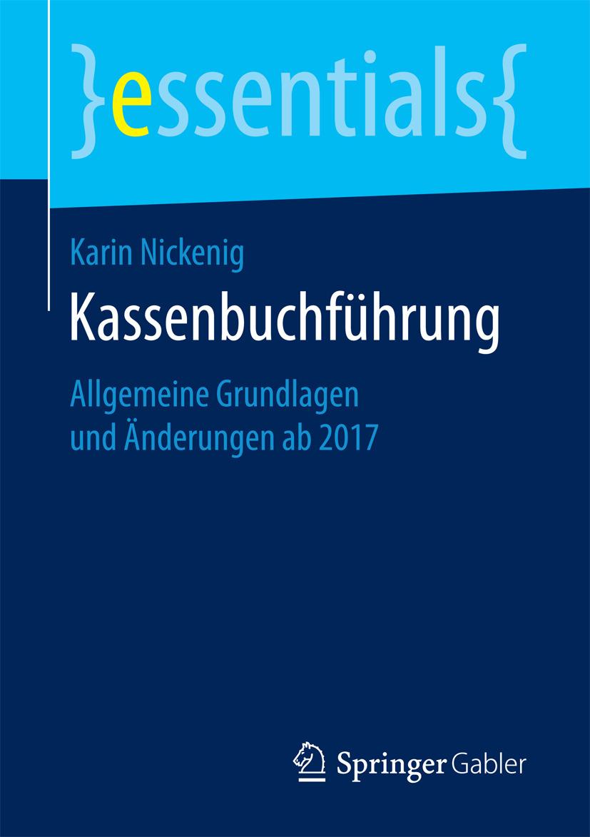 Nickenig, Karin - Kassenbuchführung, ebook