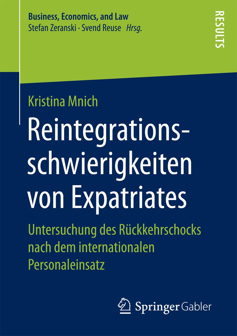 Mnich, Kristina - Reintegrationsschwierigkeiten von Expatriates, ebook