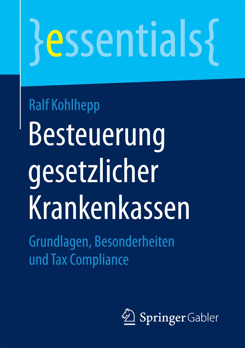 Kohlhepp, Ralf - Besteuerung gesetzlicher Krankenkassen, ebook