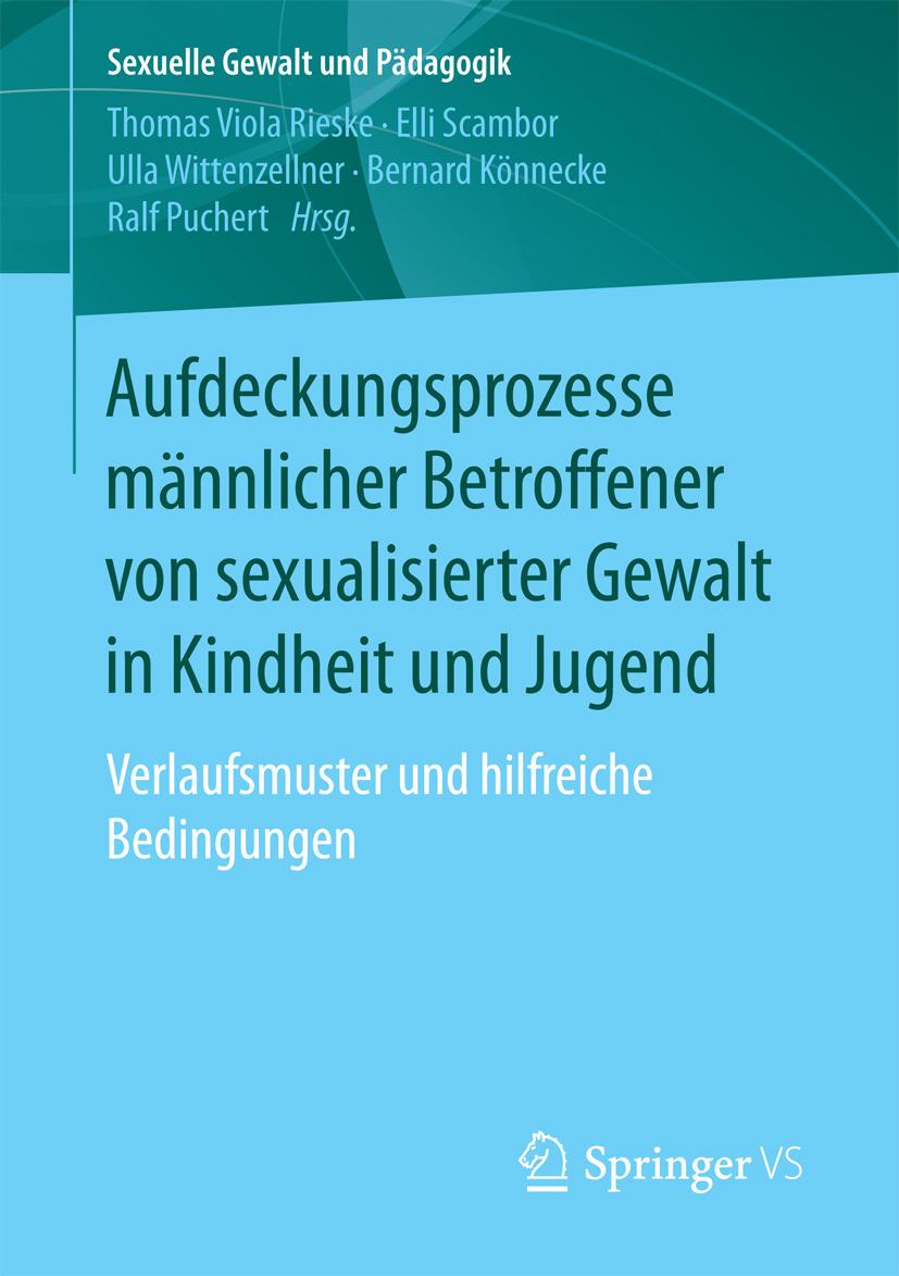 Könnecke, Bernard - Aufdeckungsprozesse männlicher Betroffener von sexualisierter Gewalt in Kindheit und Jugend, ebook
