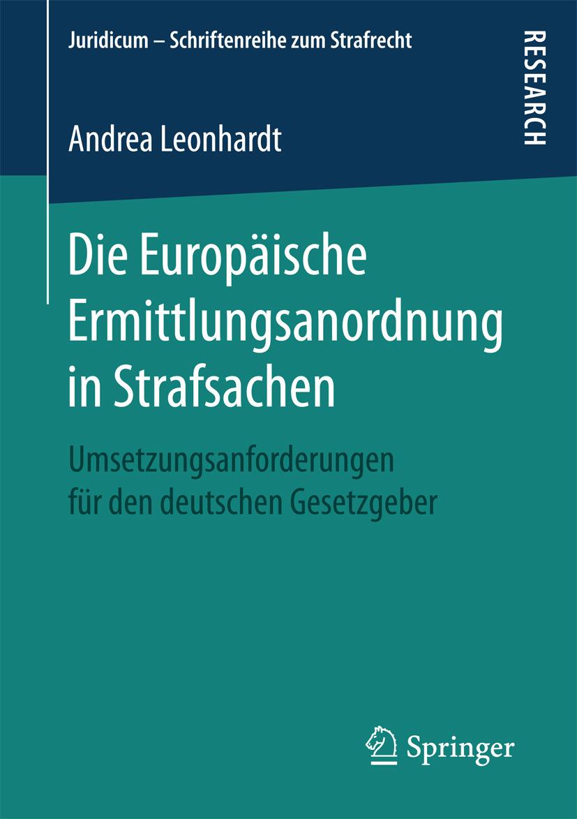 Leonhardt, Andrea - Die Europäische Ermittlungsanordnung in Strafsachen, ebook