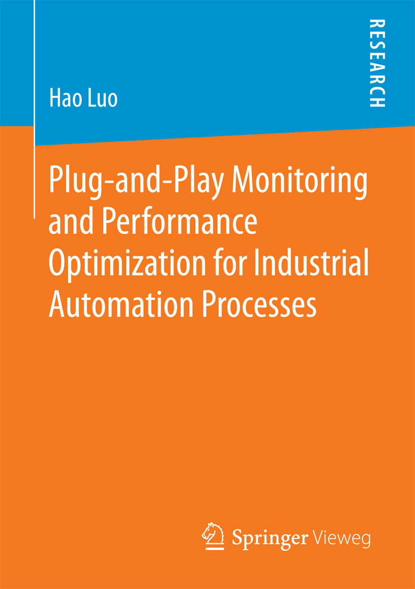 Luo, Hao - Plug-and-Play Monitoring and Performance Optimization for Industrial Automation Processes, ebook