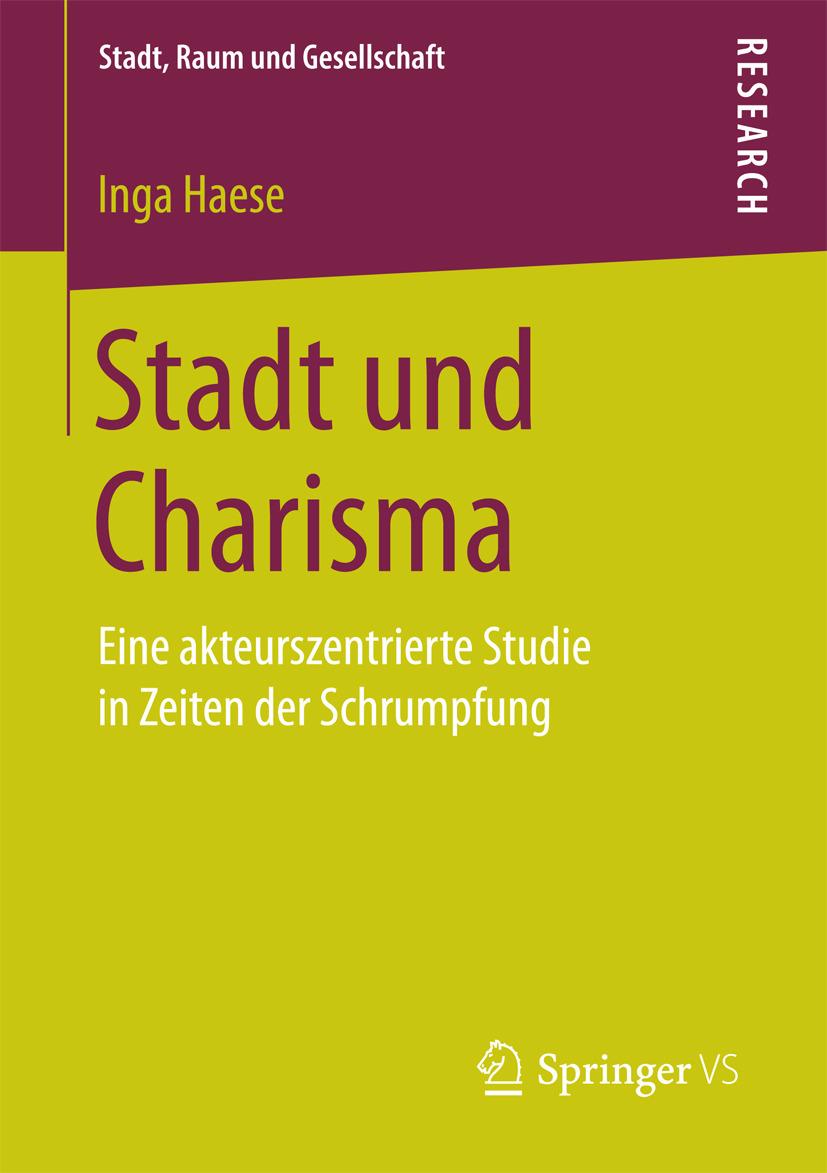 Haese, Inga - Stadt und Charisma, ebook