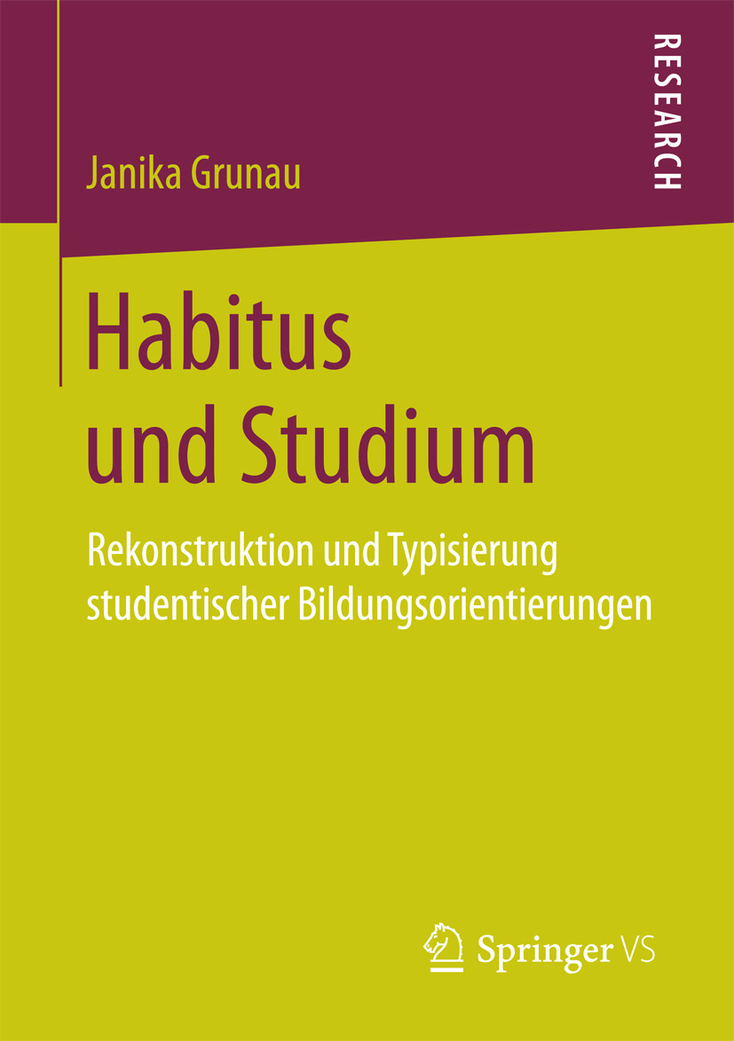 Grunau, Janika - Habitus und Studium, ebook