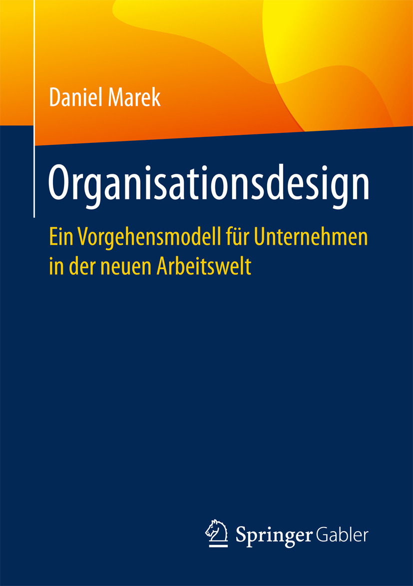 Marek, Daniel - Organisationsdesign, ebook