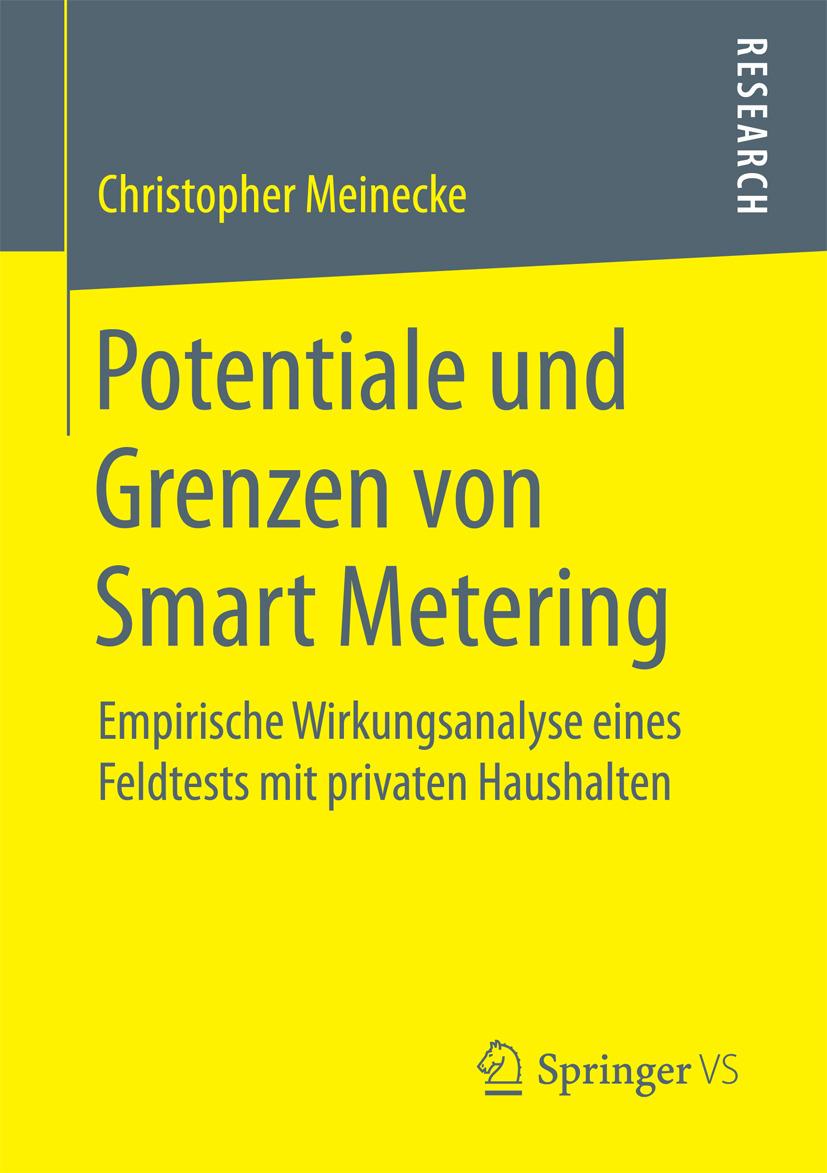 Meinecke, Christopher - Potentiale und Grenzen von Smart Metering, ebook