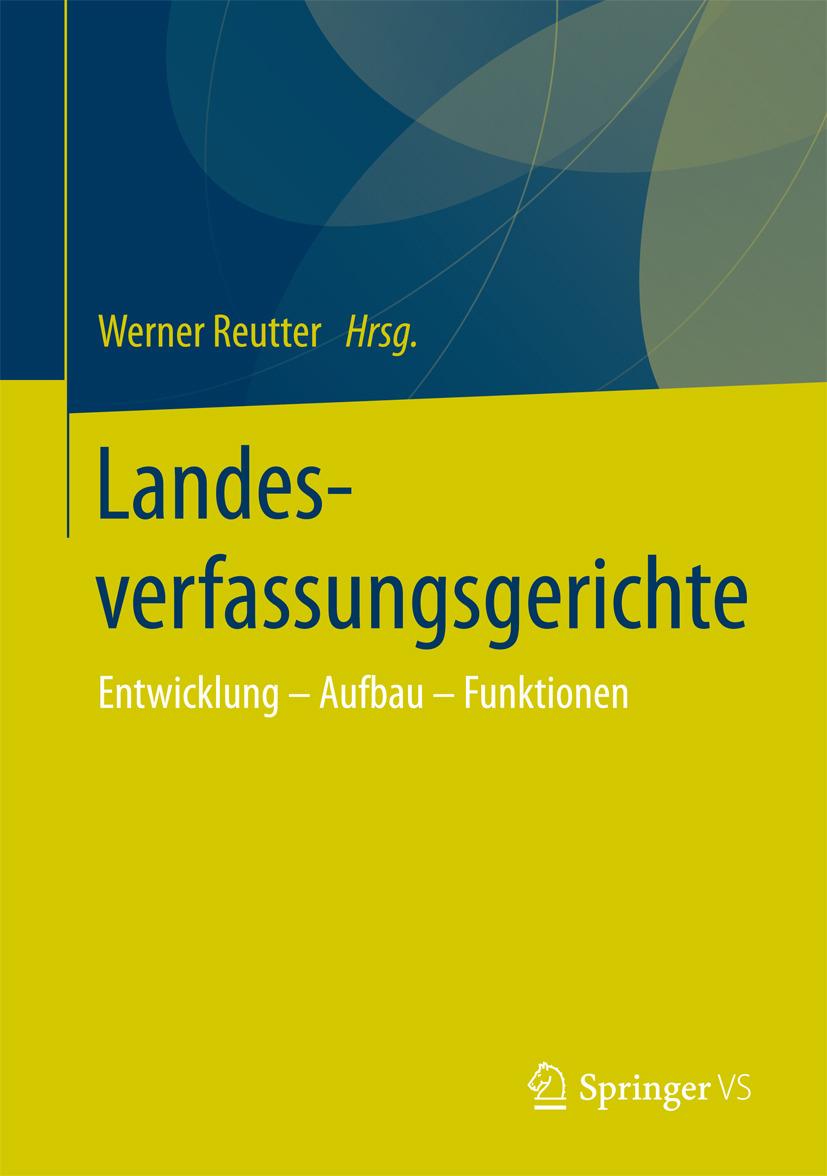 Reutter, Werner - Landesverfassungsgerichte, ebook