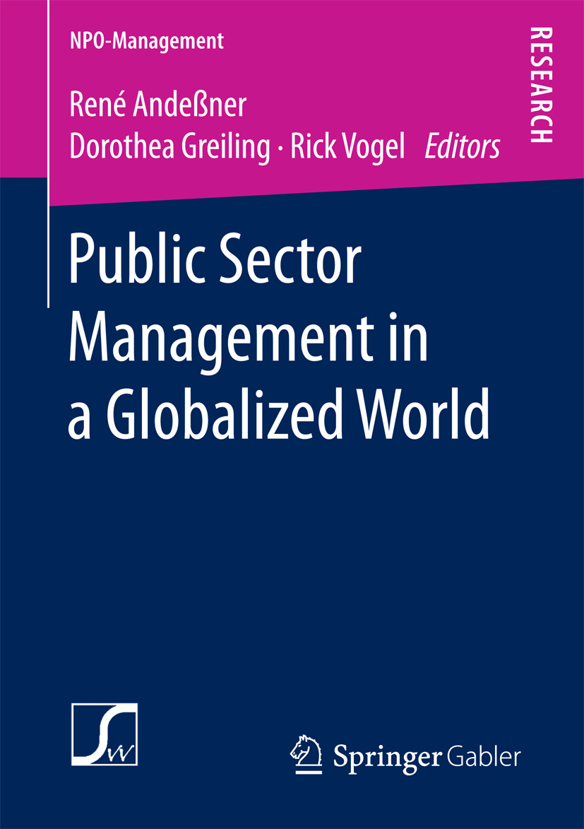Andeßner, René - Public Sector Management in a Globalized World, e-bok