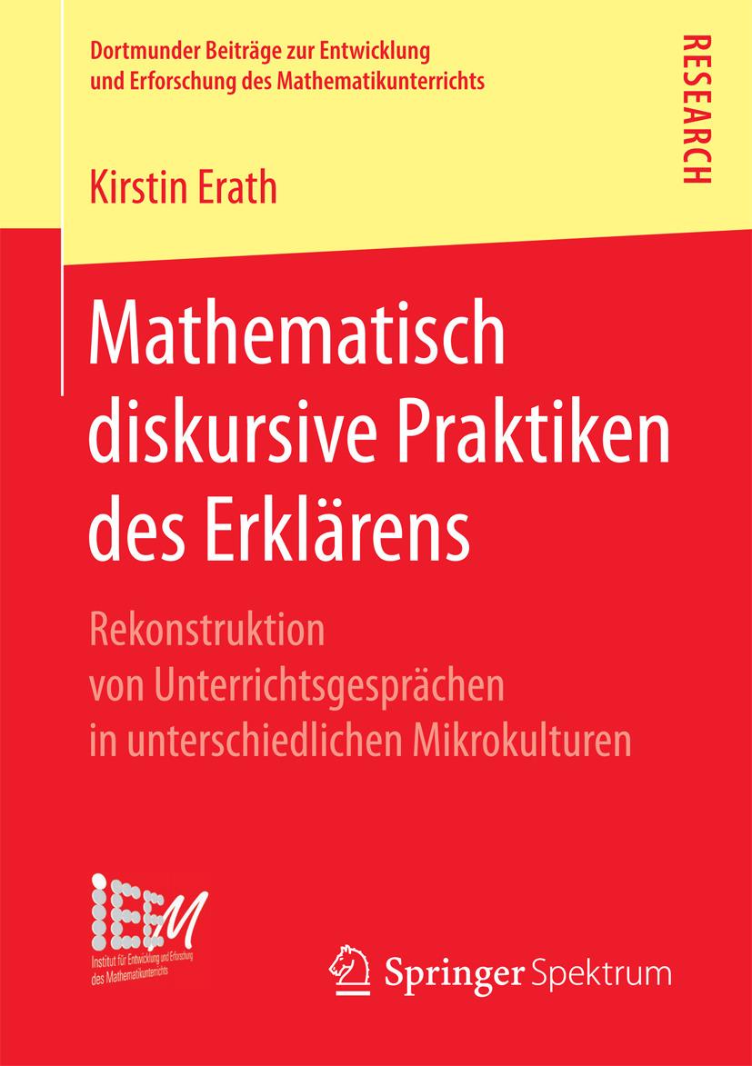 Erath, Kirstin - Mathematisch diskursive Praktiken des Erklärens, ebook