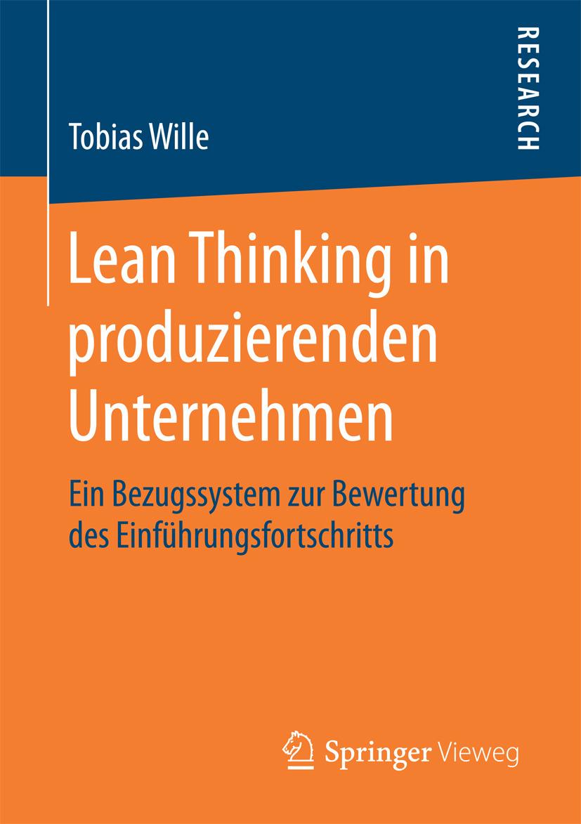 Wille, Tobias - Lean Thinking in produzierenden Unternehmen, ebook