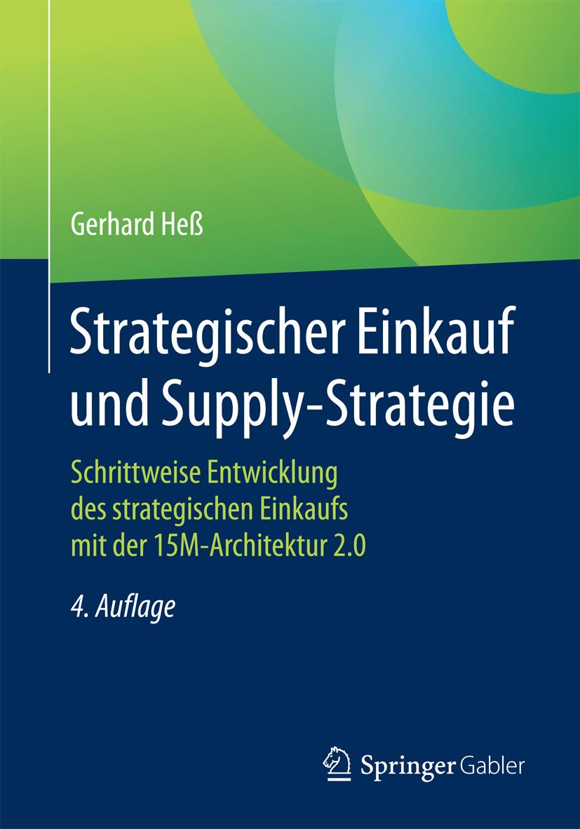 Heß, Gerhard - Strategischer Einkauf und Supply-Strategie, ebook
