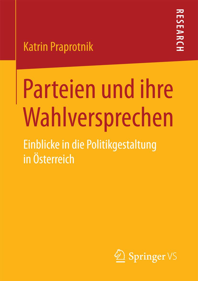 Praprotnik, Katrin - Parteien und ihre Wahlversprechen, ebook