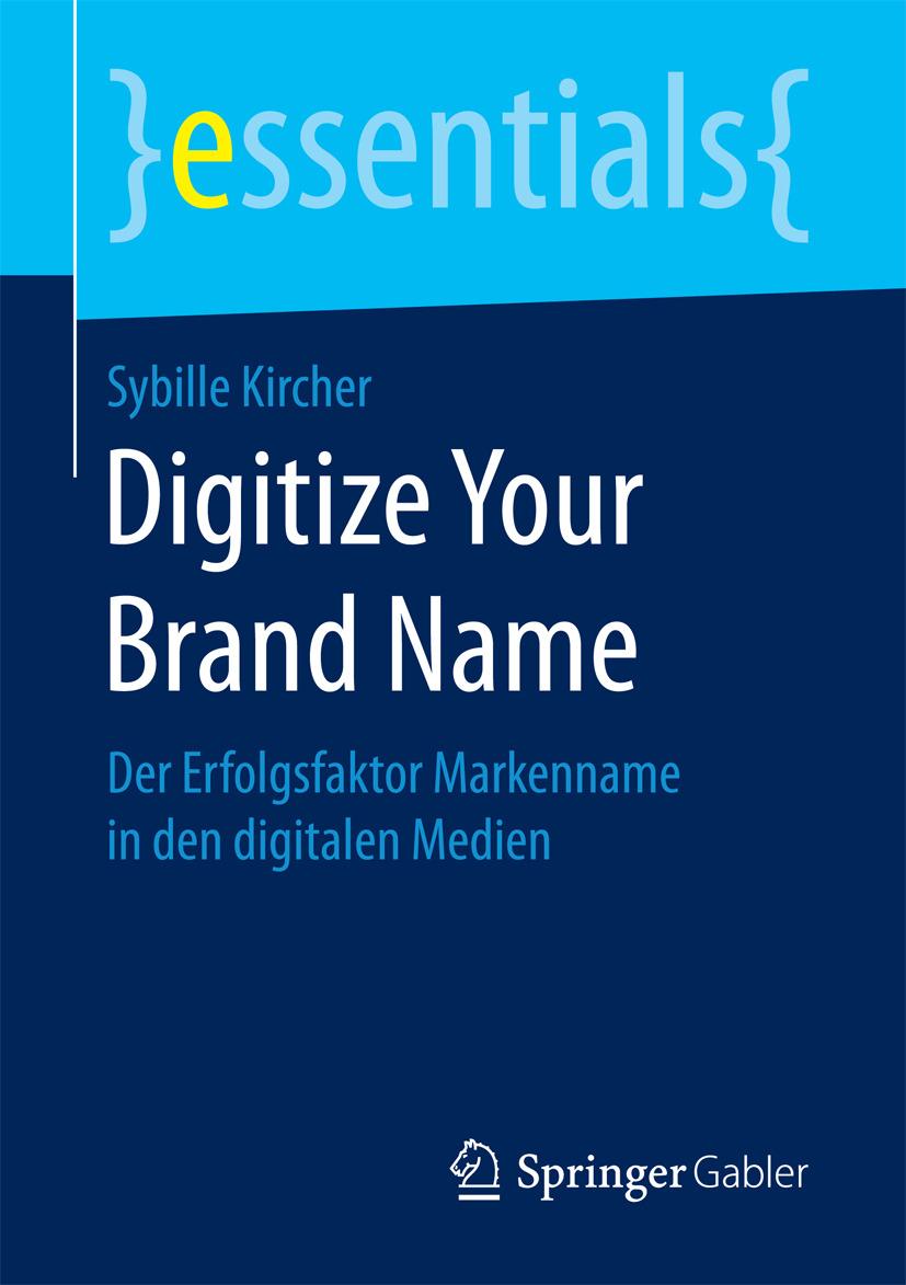 Kircher, Sybille - Digitize Your Brand Name, ebook