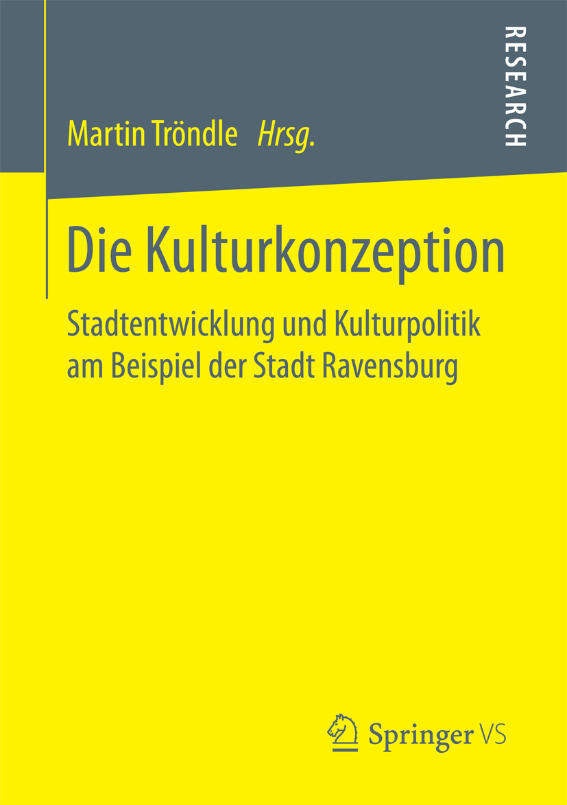 Tröndle, Martin - Die Kulturkonzeption, ebook