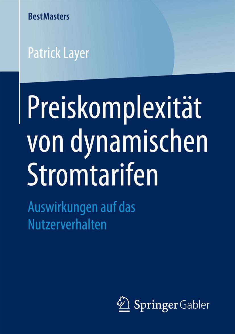 Layer, Patrick - Preiskomplexität von dynamischen Stromtarifen, ebook