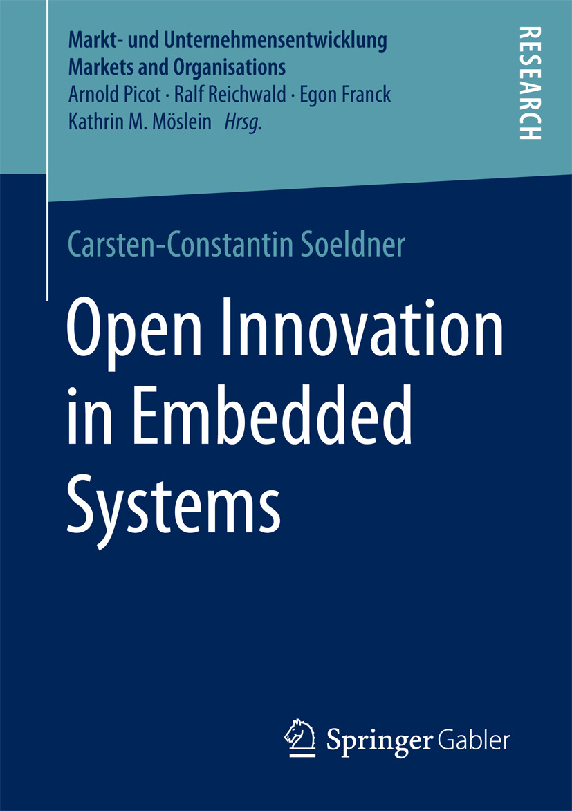 Soeldner, Carsten-Constantin - Open Innovation in Embedded Systems, e-kirja