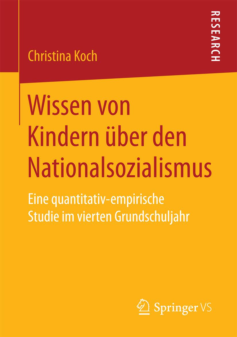Koch, Christina - Wissen von Kindern über den Nationalsozialismus, e-bok