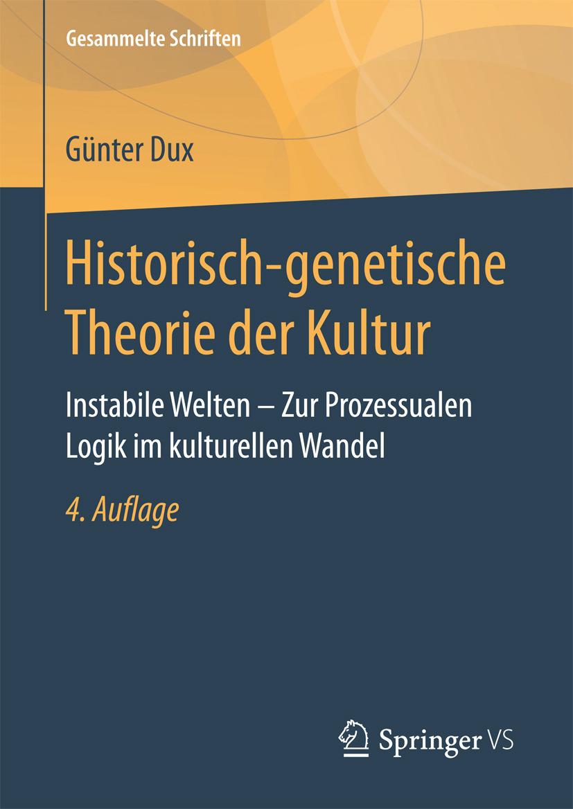 Dux, Günter - Historisch-genetische Theorie der Kultur, ebook