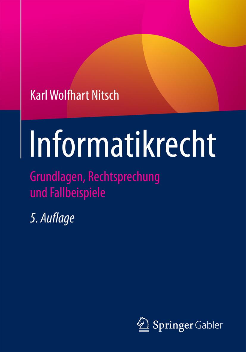 Nitsch, Karl Wolfhart - Informatikrecht, ebook