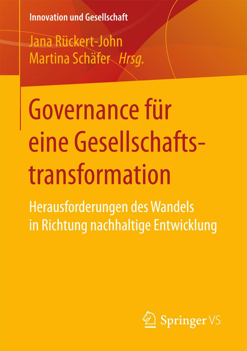 Rückert-John, Jana - Governance für eine Gesellschaftstransformation, ebook