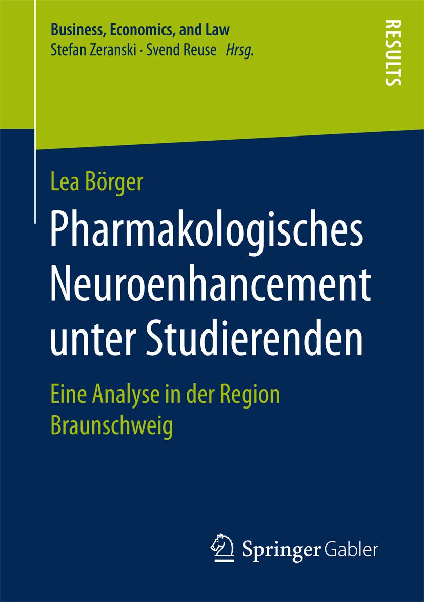 Börger, Lea - Pharmakologisches Neuroenhancement unter Studierenden, ebook