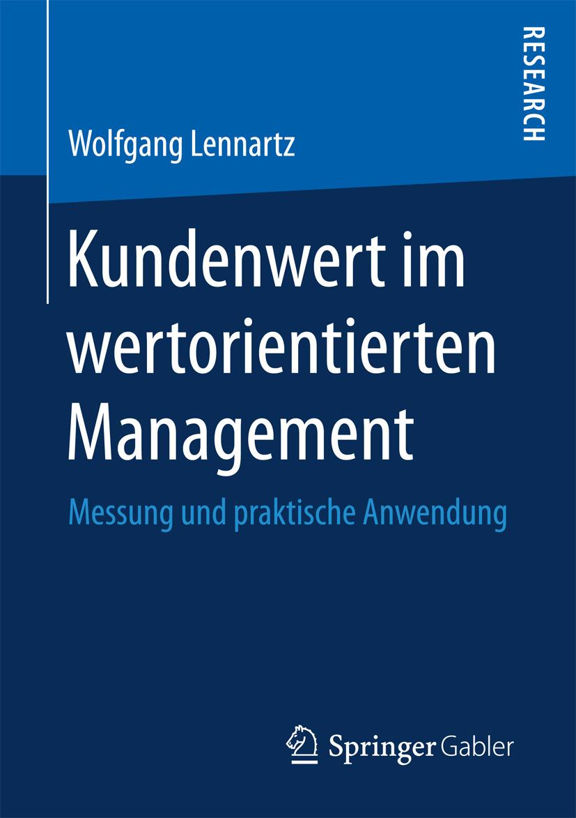 Lennartz, Wolfgang - Kundenwert im wertorientierten Management, ebook
