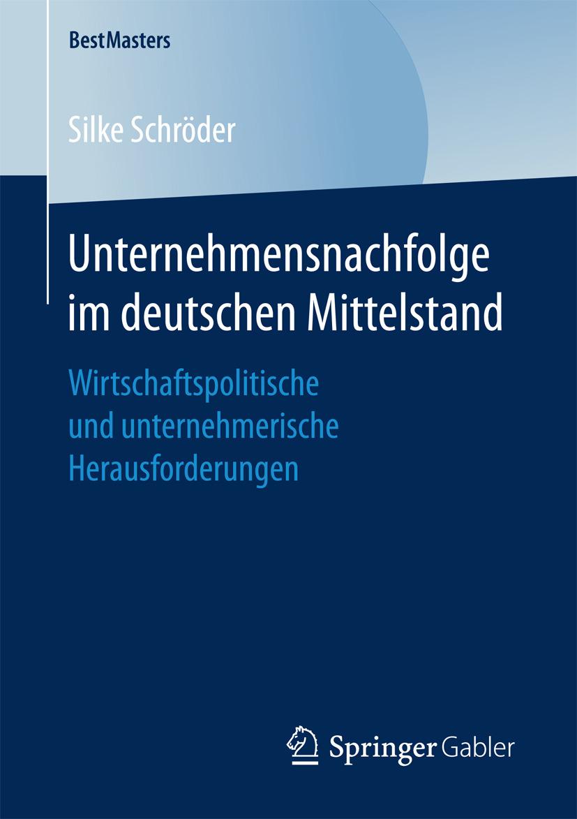 Schröder, Silke - Unternehmensnachfolge im deutschen Mittelstand, ebook