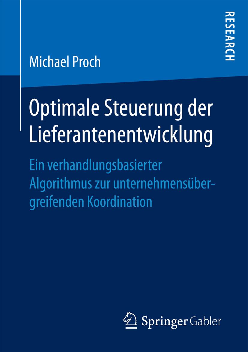 Proch, Michael - Optimale Steuerung der Lieferantenentwicklung, ebook