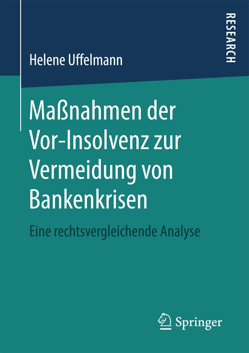 Uffelmann, Helene - Maßnahmen der Vor-Insolvenz zur Vermeidung von Bankenkrisen, ebook