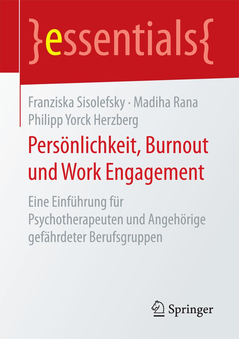 Herzberg, Philipp Yorck - Persönlichkeit, Burnout und Work Engagement, ebook