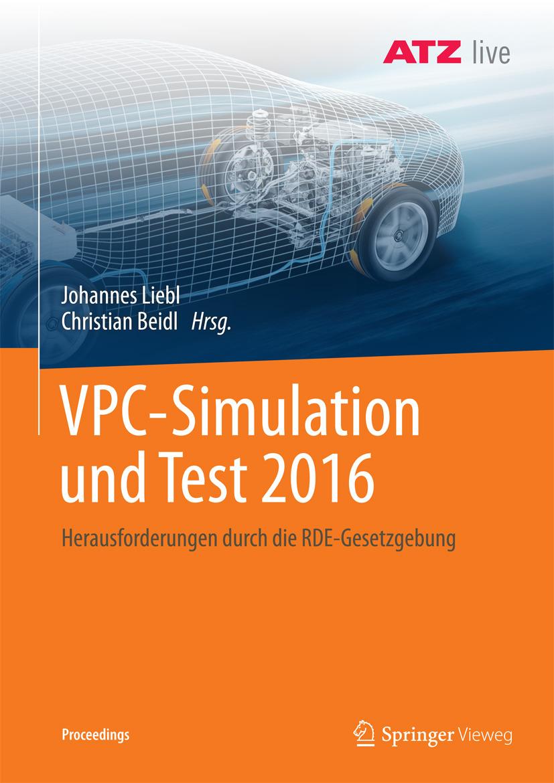 Beidl, Christian - VPC – Simulation und Test 2016, ebook