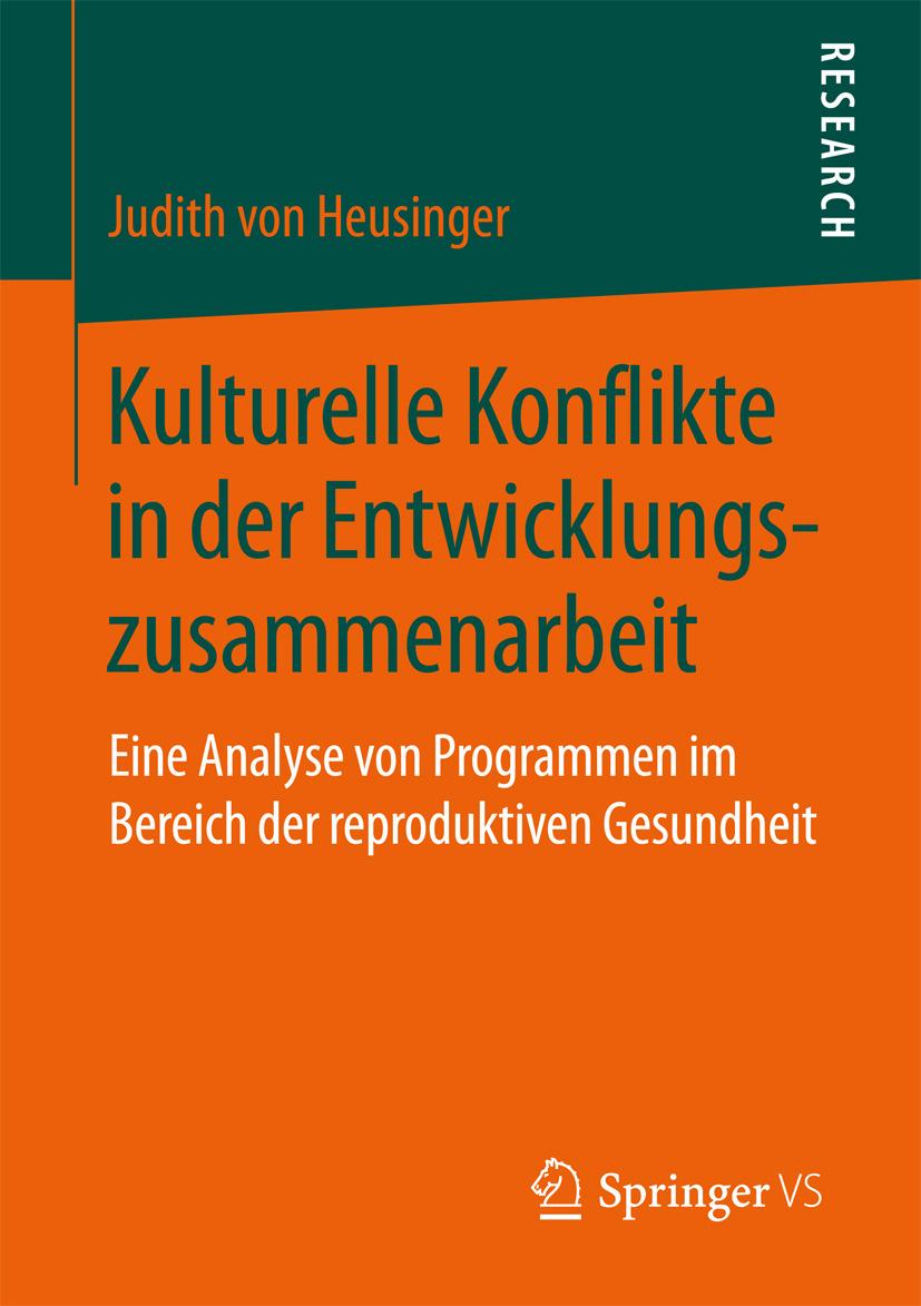 Heusinger, Judith von - Kulturelle Konflikte in der Entwicklungszusammenarbeit, ebook