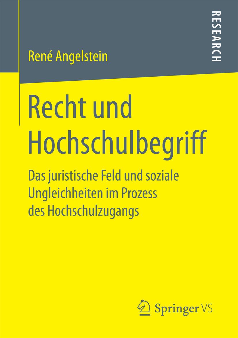 Angelstein, René - Recht und Hochschulbegriff, ebook