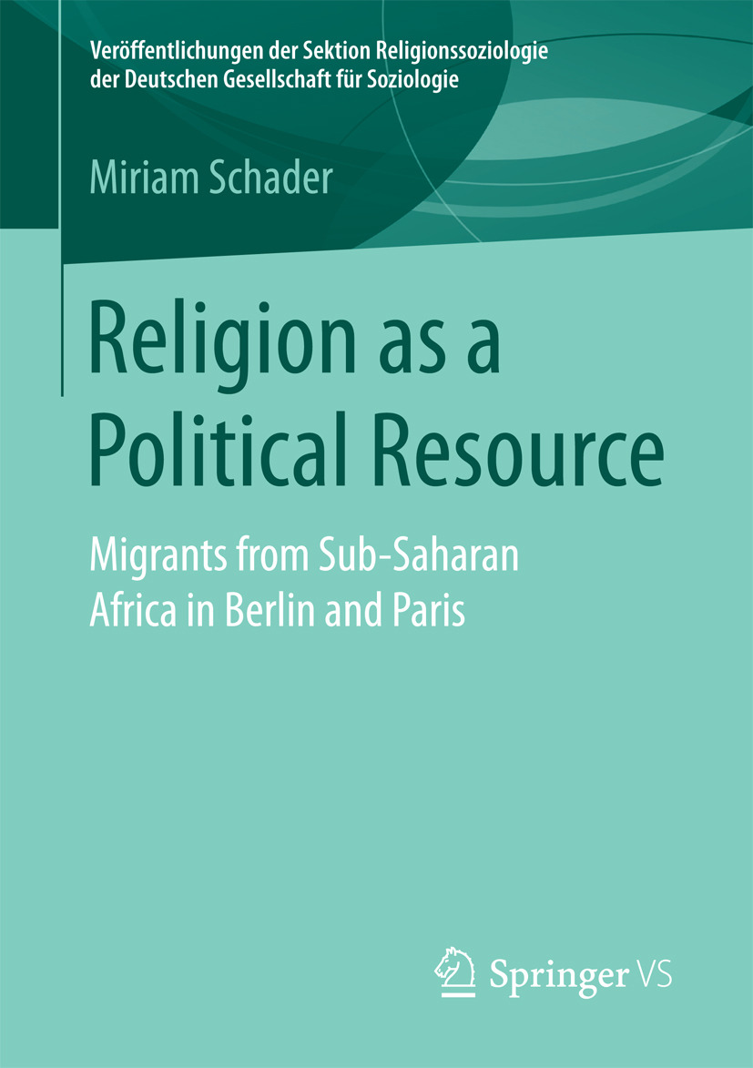 Schader, Miriam - Religion as a Political Resource, ebook
