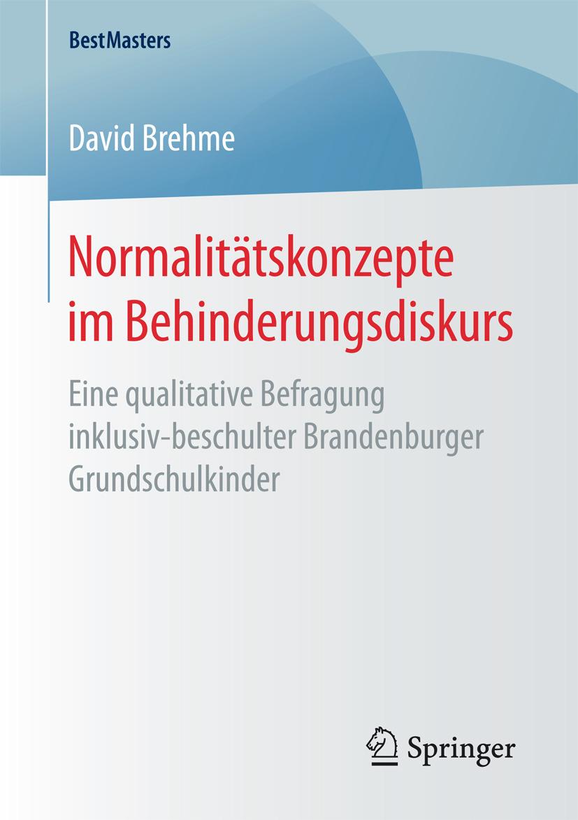 Brehme, David - Normalitätskonzepte im Behinderungsdiskurs, ebook