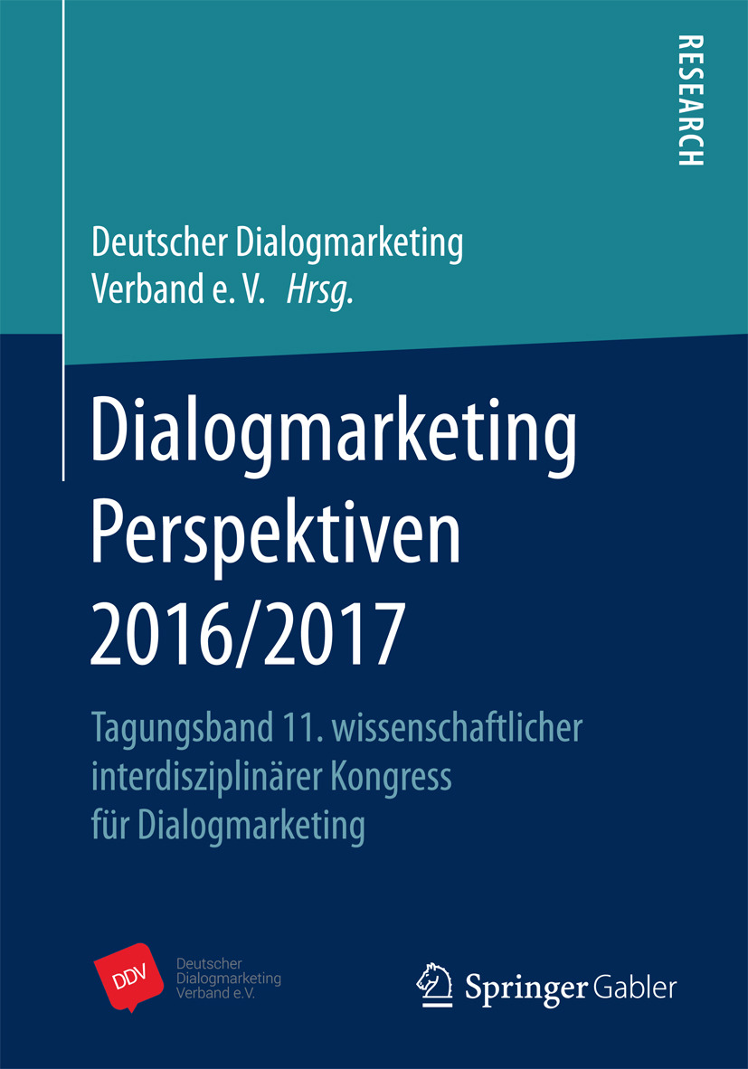 - Dialogmarketing Perspektiven 2016/2017, ebook