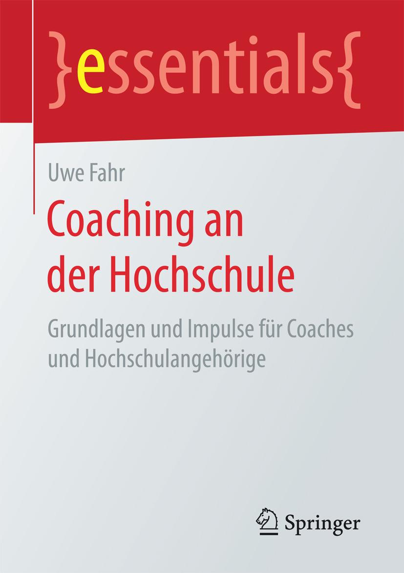 Fahr, Uwe - Coaching an der Hochschule, ebook