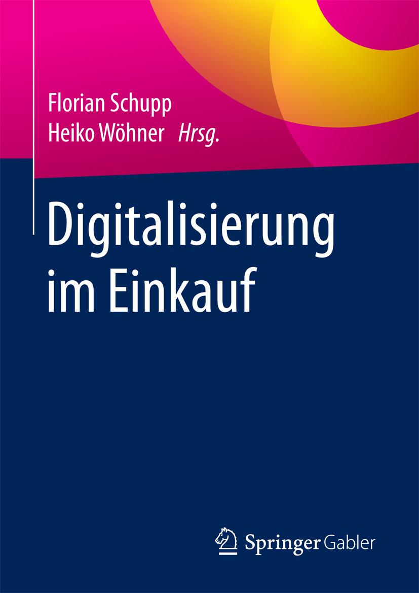 Schupp, Florian - Digitalisierung im Einkauf, e-kirja