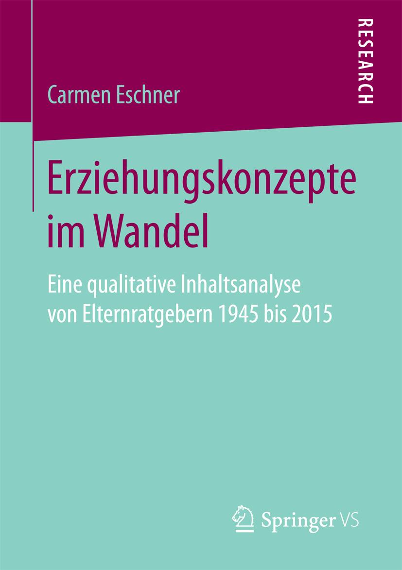 Eschner, Carmen - Erziehungskonzepte im Wandel, ebook