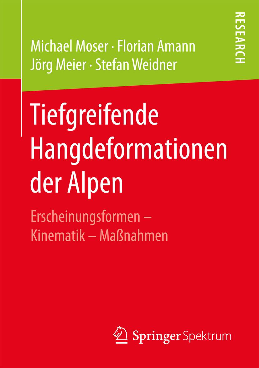 Amann, Florian - Tiefgreifende Hangdeformationen der Alpen, e-bok