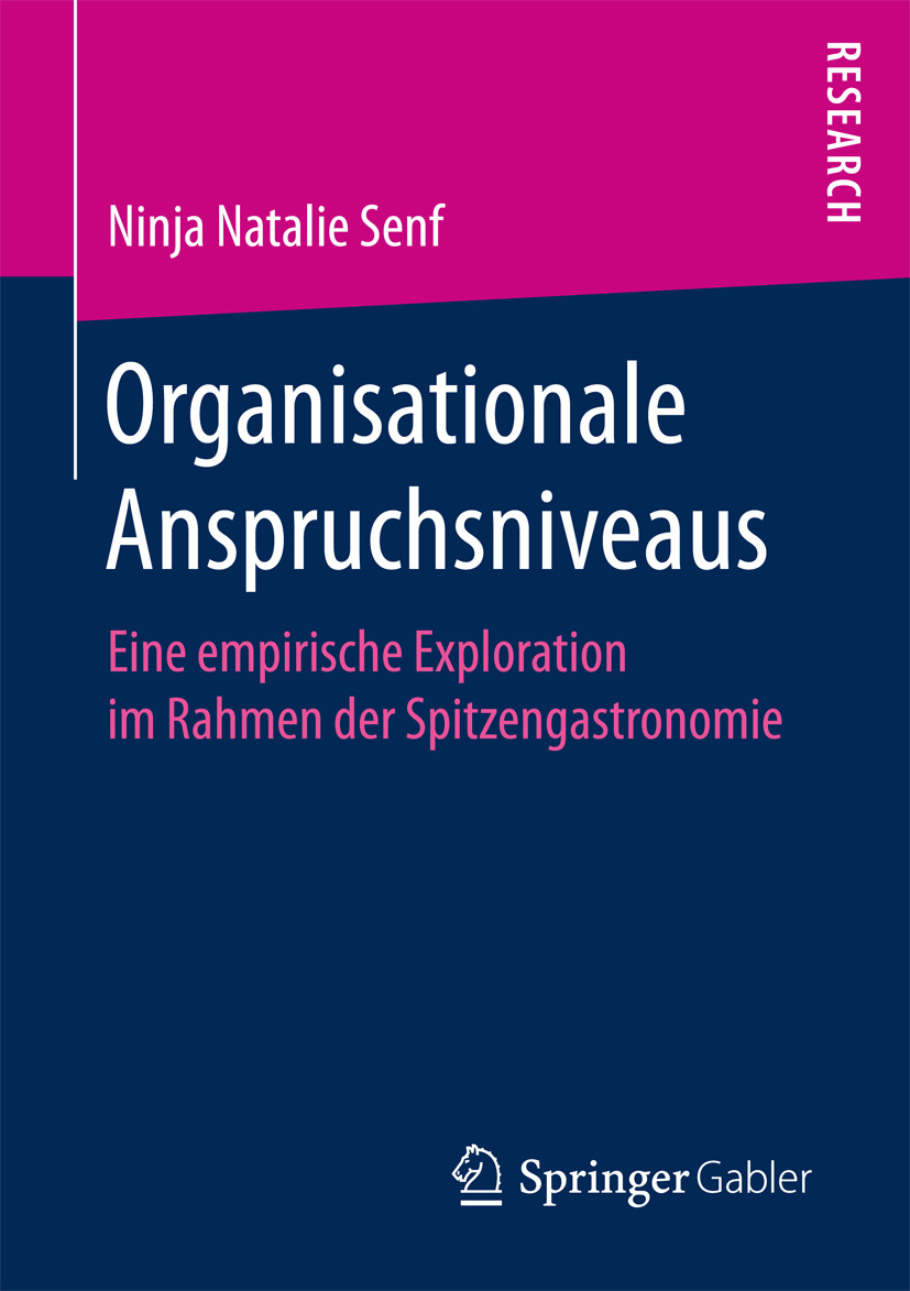 Senf, Ninja Natalie - Organisationale Anspruchsniveaus, ebook