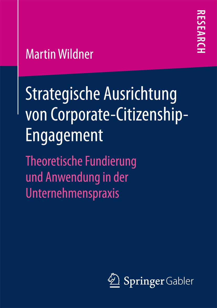 Wildner, Martin - Strategische Ausrichtung von Corporate-Citizenship-Engagement, ebook