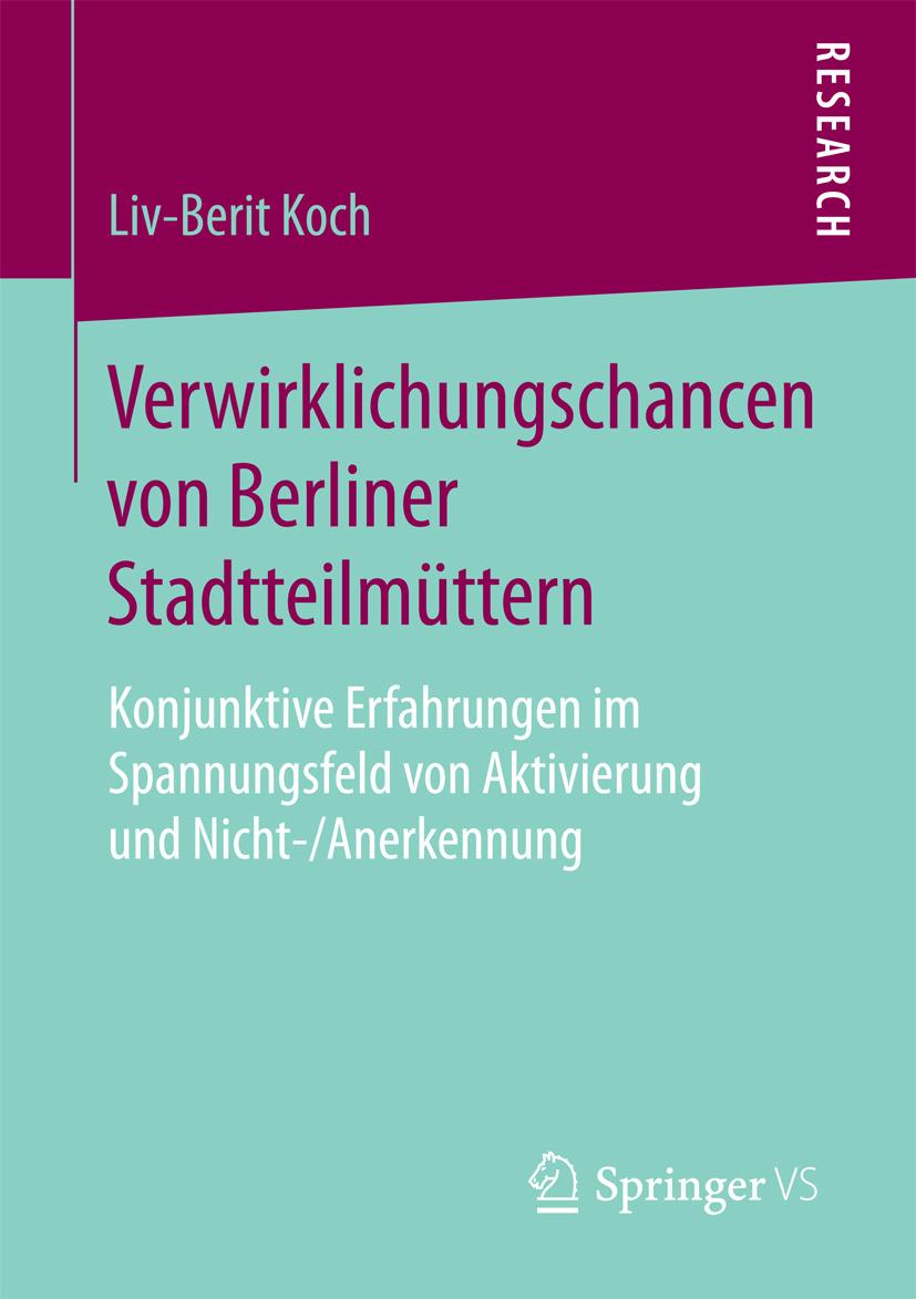 Koch, Liv-Berit - Verwirklichungschancen von Berliner Stadtteilmüttern, ebook