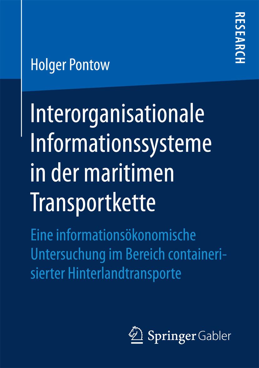 Pontow, Holger - Interorganisationale Informationssysteme in der maritimen Transportkette, ebook