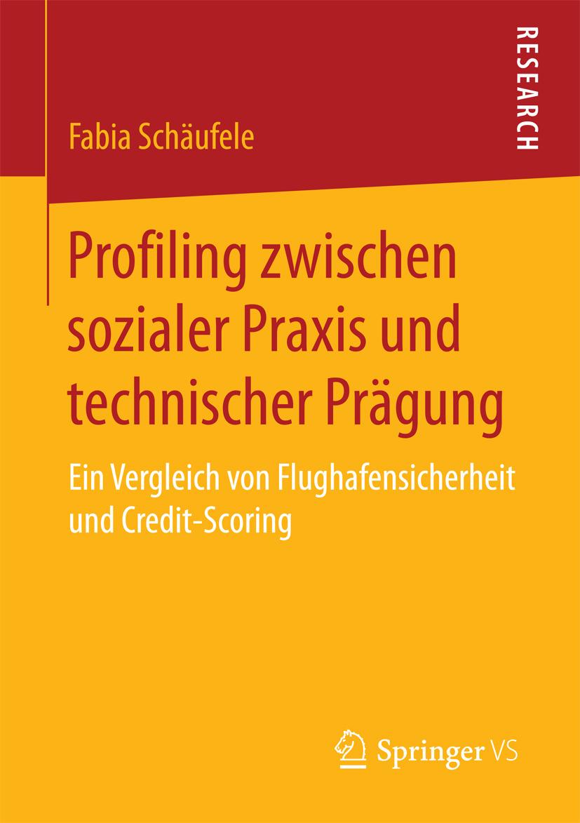 Schäufele, Fabia - Profiling zwischen sozialer Praxis und technischer Prägung, ebook