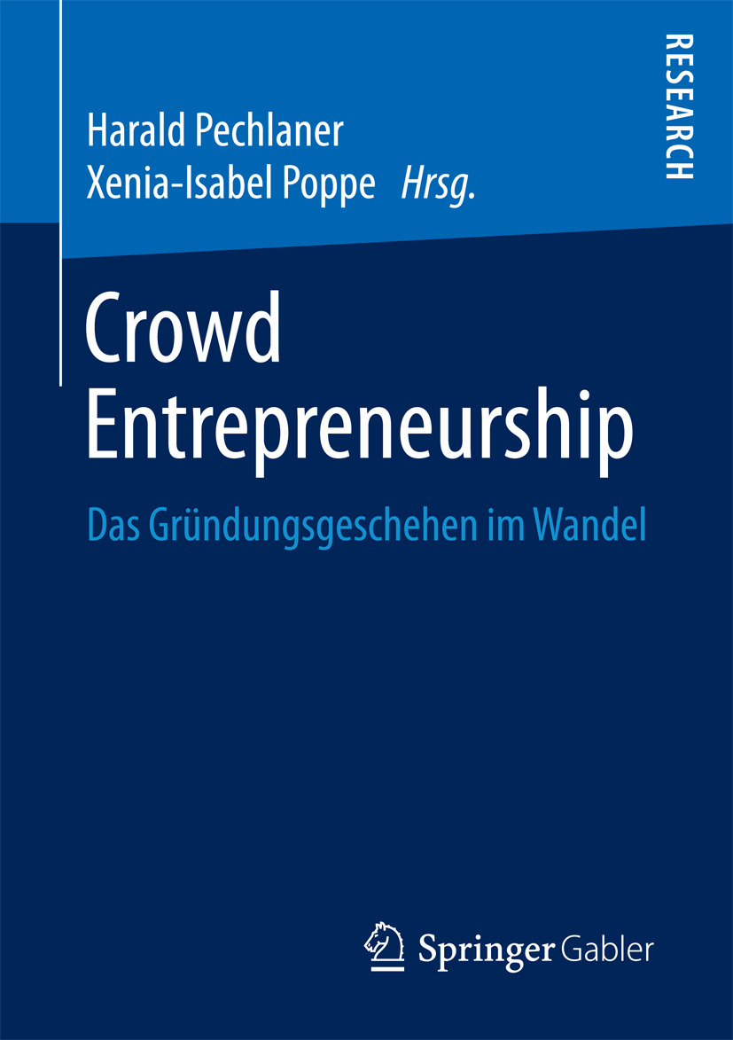 Pechlaner, Harald - Crowd Entrepreneurship, ebook
