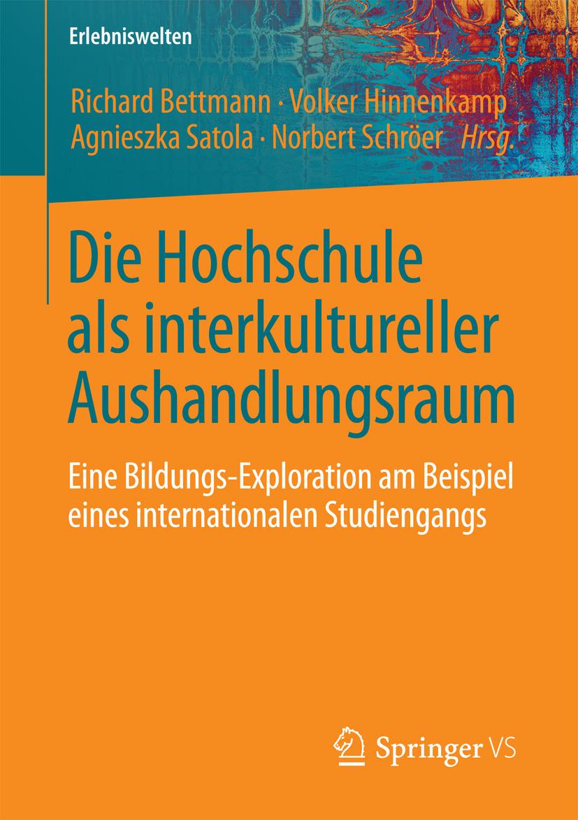 Bettmann, Richard - Die Hochschule als interkultureller Aushandlungsraum, ebook