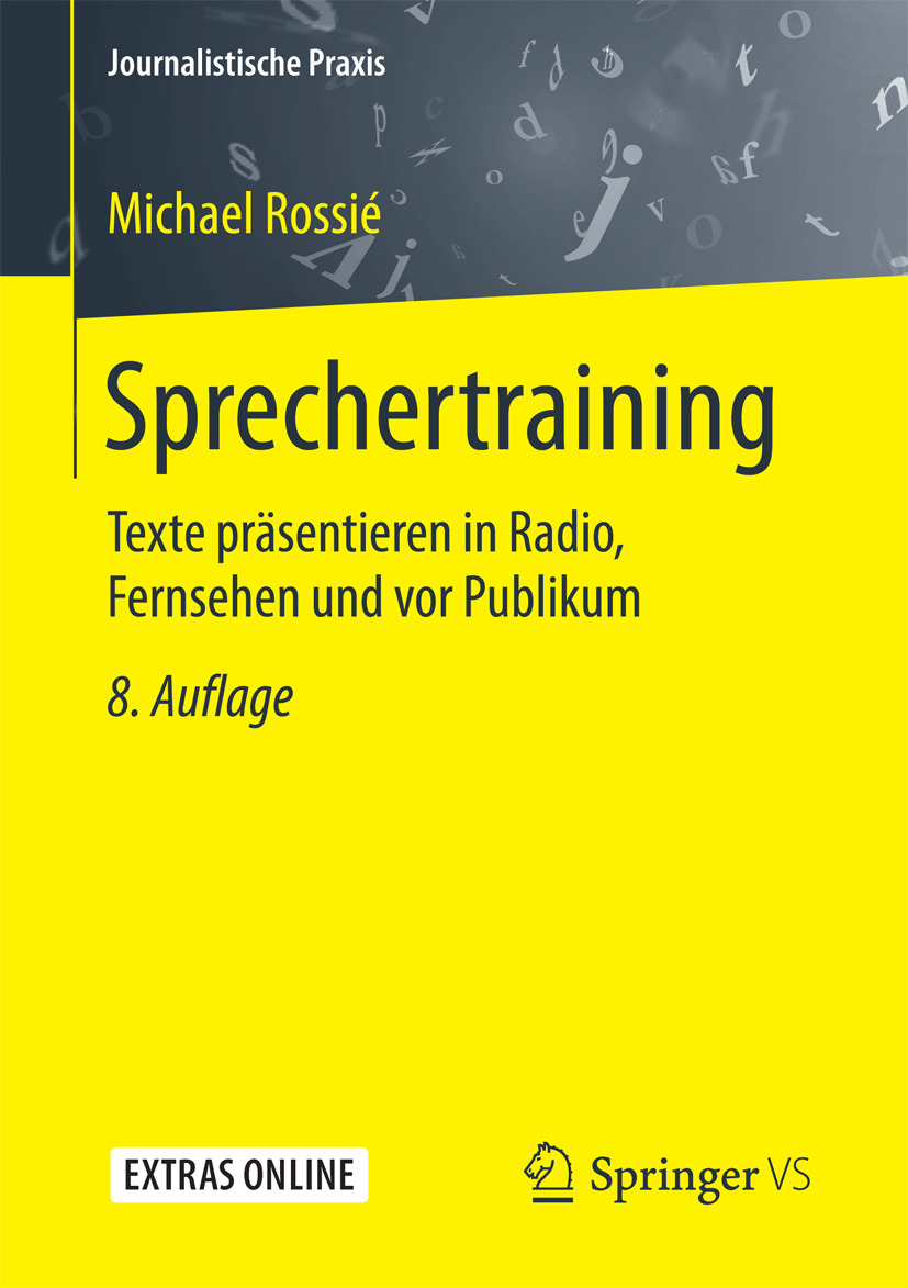 Rossié, Michael - Sprechertraining, ebook