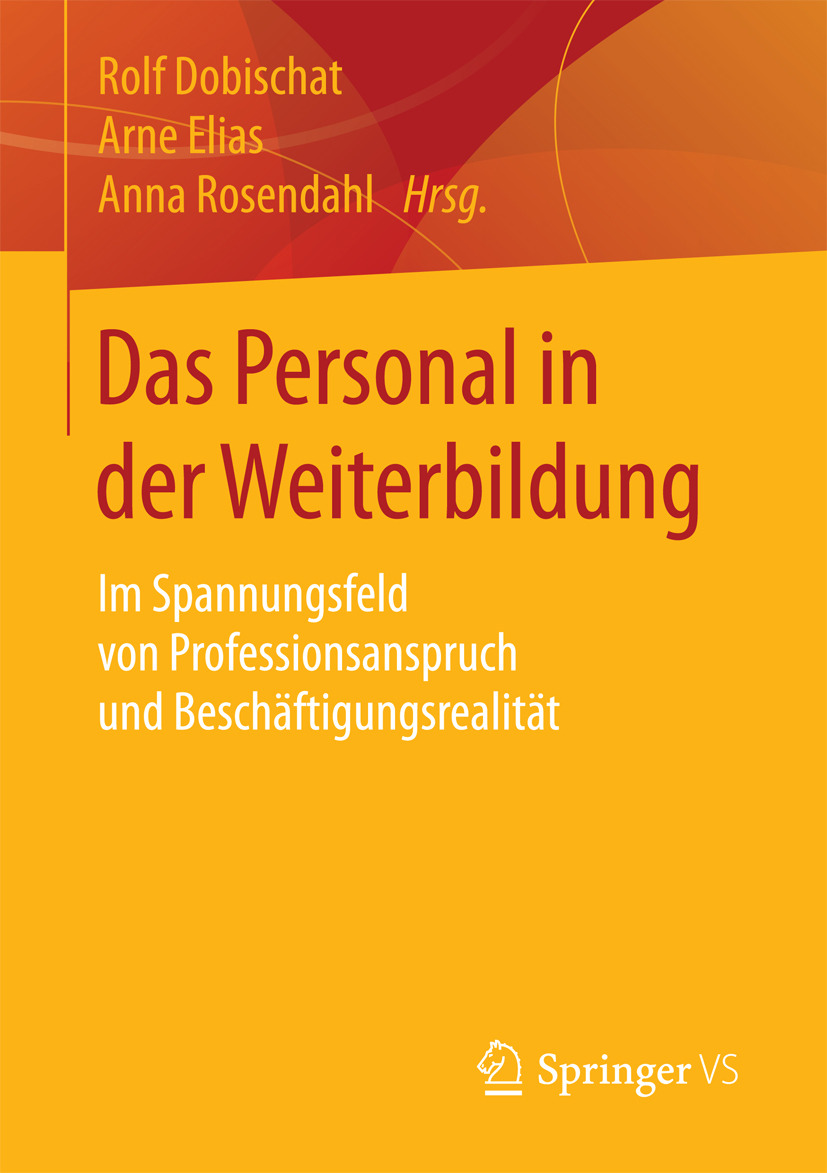 Dobischat, Rolf - Das Personal in der Weiterbildung, ebook