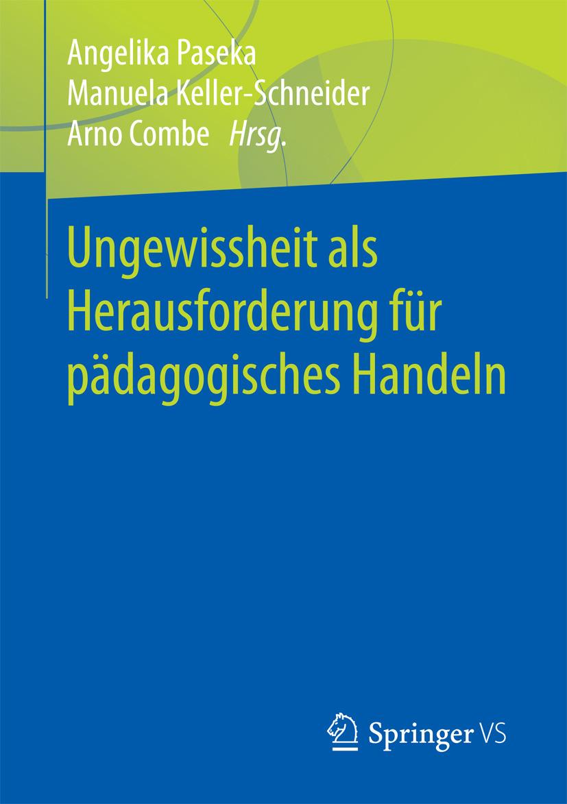 Combe, Arno - Ungewissheit als Herausforderung für pädagogisches Handeln, ebook